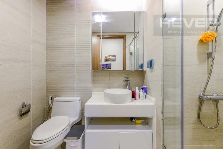 Phòng tắm 1 Bán căn hộ Vinhomes Central Park tầng trung 3PN đầy đủ nội thất view sông