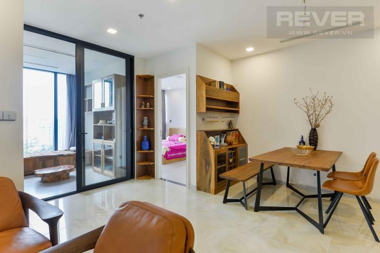 Phòng Khách Bán căn hộ Vinhomes Golden River 3PN 2WC, nội thất cao cấp, view sông