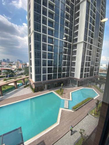 View căn hộ Eco Green Saigon Căn hộ Eco Green Saigon tầng 06, nội thất cơ bản.