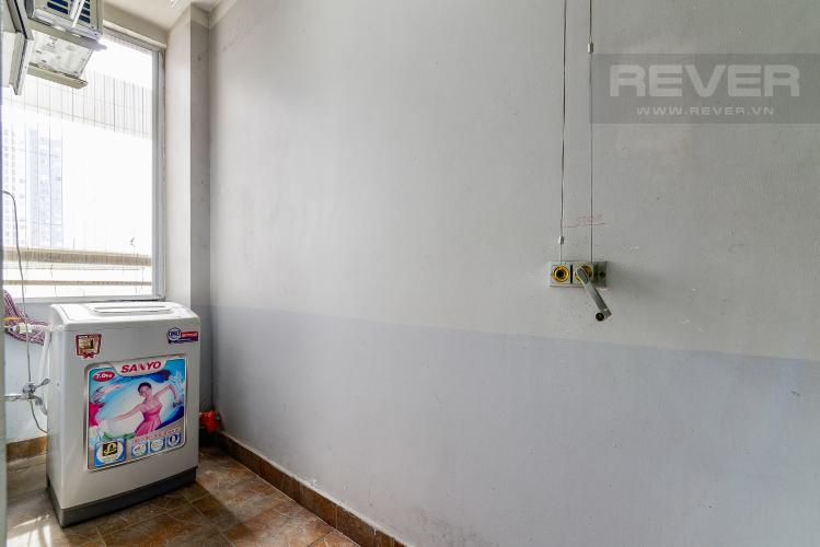 Loggia Căn hộ Orient Apartment tầng thấp, 2PN, nội thất cơ bản