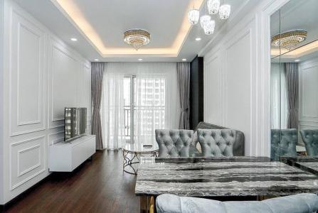 Bán căn hộ Sunrise Riverside 3PN, tầng thấp, diện tích 83m2, đầy đủ nội thất