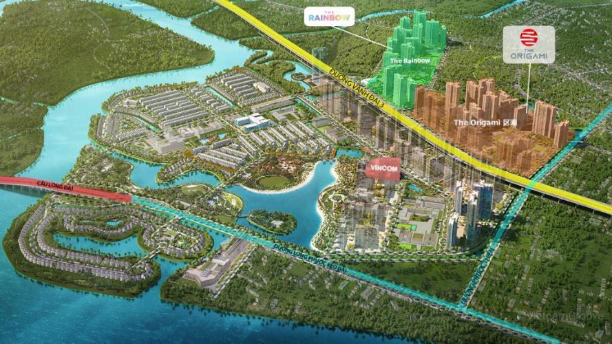 Bản vẽ dự án Vinhomes Grand Park Bán căn hộ tầng cao Vinhomes Grand Park, view thành phố và sông, tiện ích đẳng cấp.