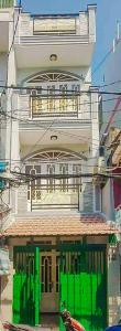 Bán nhà phố đường Âu Dương Lân diện tích 87m2, 4PN 4WC, nội thất cơ bản