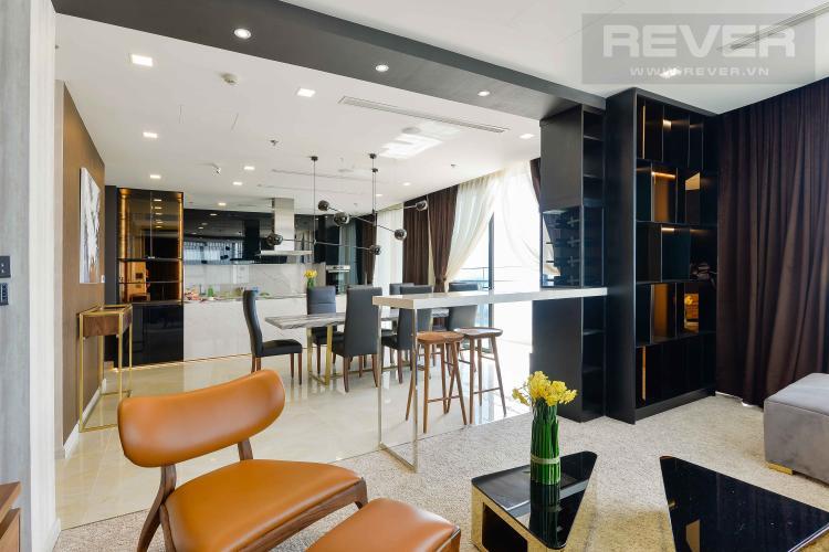 Phòng Khách Bán căn hộ Vinhomes Golden River tầng cao, diện tích 150m2, 3PN 3WC, nội thất cao cấp