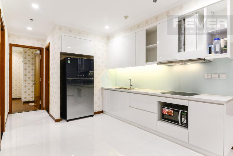 Nhà Bếp Căn hộ Vinhomes Central Park 2 phòng ngủ tầng trung L5 đầy đủ nội thất