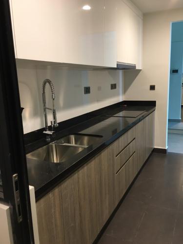 Phòng bếp Feliz En Vista Căn hộ Feliz En Vista tầng trung, nội thất cơ bản, view thoáng mát.