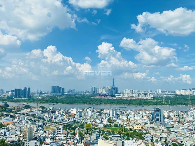 View căn hộ Eco Green Saigon, Quận 7 Căn hộ Eco Green Saigon sàn lót gỗ sang trọng, view thành phố
