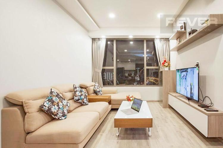 Cho thuê căn hộ RiverGate Residence 2PN, diện tích 74m2, đầy đủ nội thất, view kênh Bến Nghé và thành phố