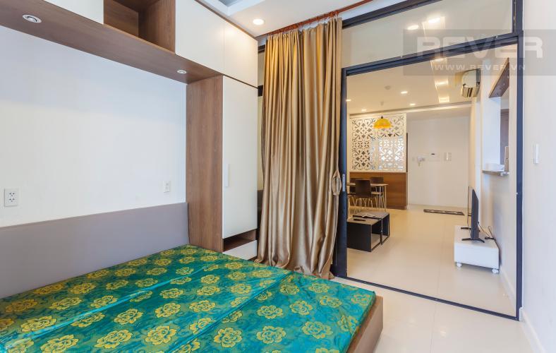 Phòng ngủ Căn hộ Lexington Residence tầng cao LC đầy đủ nội thất, tiện nghi