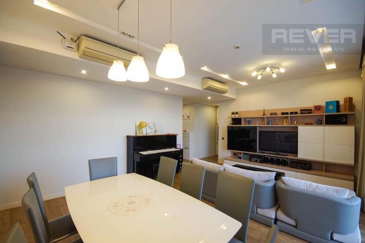 Phòng Khách Cho thuê căn hộ The Estella Residence 3PN, tầng trung, diện tích 124m2, đầy đủ nội thất