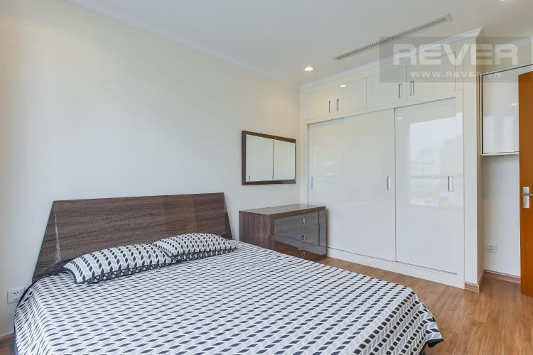 Phòng Ngủ 1 Bán căn hộ Officetel Vinhomes Central Park 2 phòng ngủ tầng thấp tháp Landmark 3, đầy đủ nội thất cao cấp