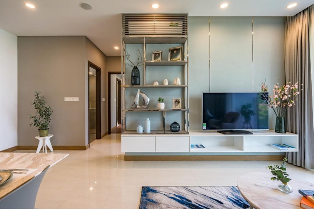 can-ho-ONE-VERANDAH Bán căn hộ One Verandah 2PN, tầng thấp, nội thất cơ bản, hướng cửa Tây Bắc
