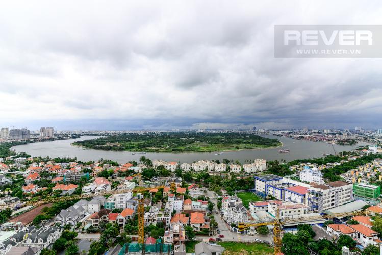 View Cho thuê căn hộ Masteri An Phú, tháp A, diện tích 70m2, đầy đủ nội thất, view sông thoáng đãng