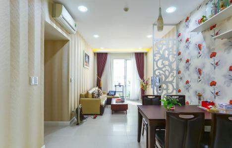 Căn hộ Lexington Residence tầng thấp, 2PN đầy đủ nội thất