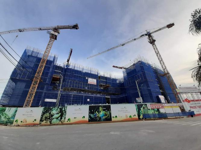Tiến độ xây dựng Ricca Quận 9 Căn hộ tầng trung Ricca thoáng mát, nội thất cơ bản.