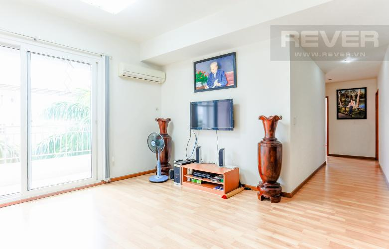 Phòng Khách Và Lobby Cho thuê căn hộ V-Star Quận 7 3PN, nội thất cơ bản