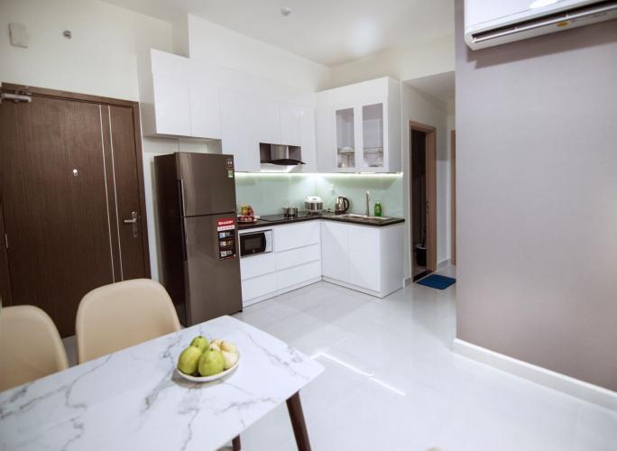 Phòng bếp Jamila Khang Điền, Quận 9 Căn hộ Jamila Khang Điền tầng cao, ban công hướng Tây Bắc.