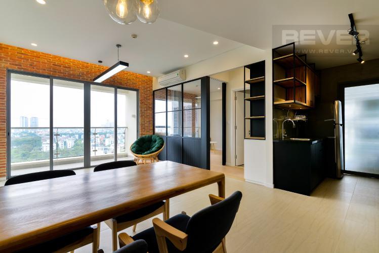 Phòng Khách Cho thuê căn hộ Diamond Island - Đảo Kim Cương 2PN, tháp Canary, đầy đủ nội thất, view sông mát mẻ