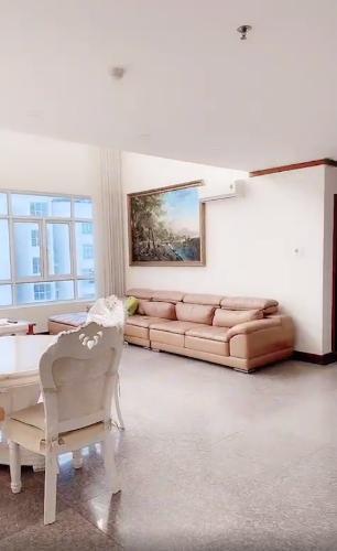 Căn hộ Penthouse Masteri Millennium đầy đủ nội thất sang trọng.