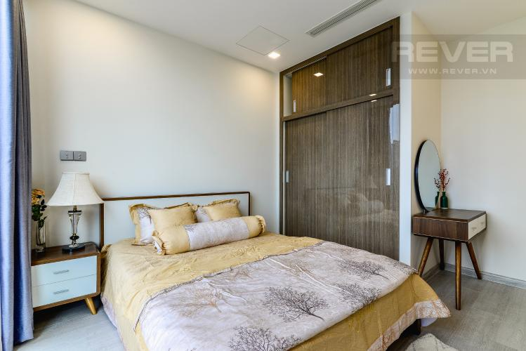 Phòng Ngủ 1 Officetel Vinhomes Golden River tầng thấp, 2 phòng ngủ, full nội thất