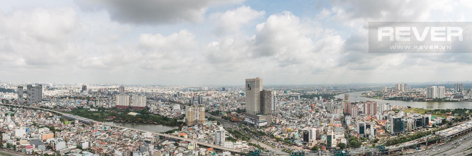 View Cho thuê căn hộ Vinhomes Central Park 3PN, tầng 37 tháp Landmark 5