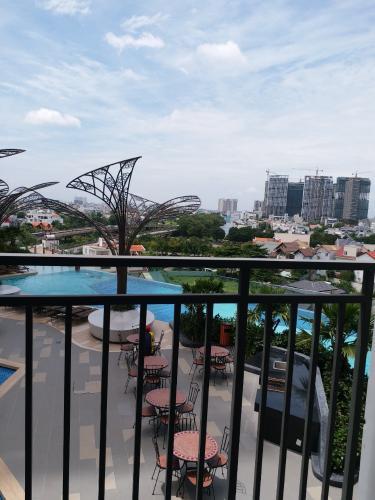 view cảnh Cho thuê căn hộ The Sun Avenue 3PN, đầy đủ nội thất, diện tích 86.6m2