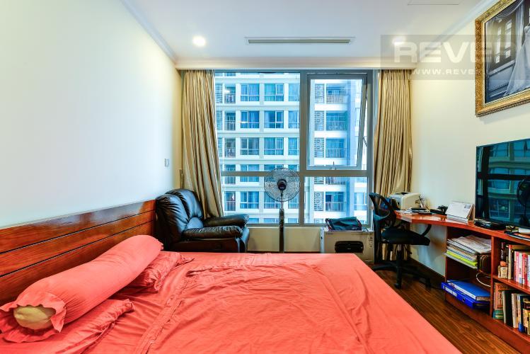 Phòng Ngủ 1 Bán căn hộ Vinhomes Central Park tầng cao 2PN view sông