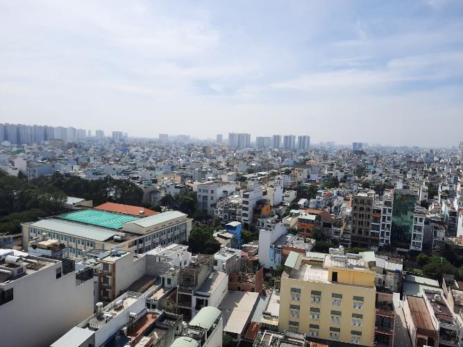 View căn hộ Kim Hồng Fortuna, Tân Phú Căn hộ Kim Hồng Fortuna view thành phố thoáng mát, hướng Đông Nam.