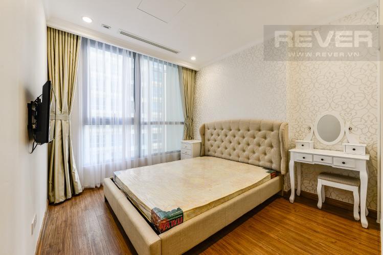 Phòng ngủ Officetel Vinhomes Central Park 1 phòng ngủ tầng trung L5 hướng Tây Nam