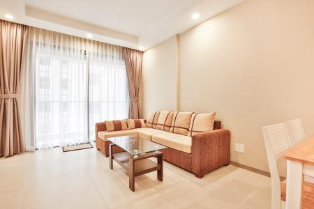 Căn hộ The Gold View 2 phòng ngủ tầng thấp A1 đầy đủ nội thất
