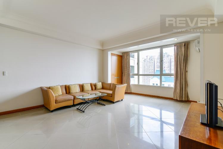 Phòng Khách Căn hộ The Manor 2 phòng ngủ tầng cao AE nội thất đầy đủ