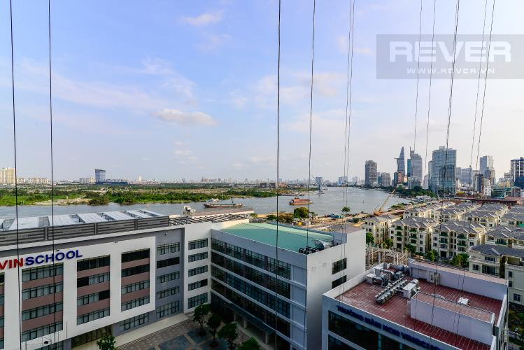 View Bán căn hộ Vinhomes Golden River 3PN, đầy đủ nội thất, view sông