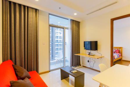 Căn hộ 2 phòng tại trung tâm Vinhomes Central Park cho thuê, giá ưu đãi