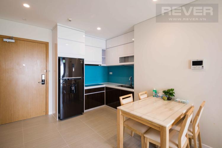 Bếp Cho thuê căn hộ officetel Diamond Island - Đảo Kim Cương tháp Canary, đầy đủ nội thất, view sông thoáng mát