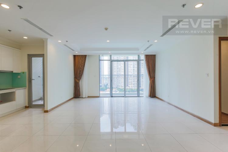 Phòng Khách Bán căn góc Vinhomes Central Park 3 phòng ngủ tầng trung tháp C3, diện tích lớn 122m2
