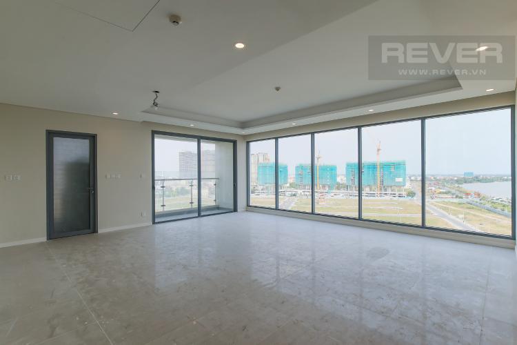 Phòng Khách Bán căn hộ Diamond Island - Đảo Kim Cương 3 phòng ngủ, diện tích 120m2, view sông mát mẻ