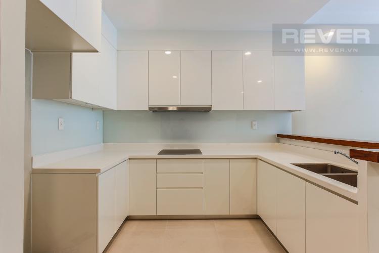 Phòng Bếp Căn hộ The Gold View 2 phòng ngủ tầng cao A1 đầy đủ tiện nghi