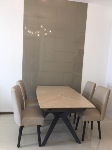 Phòng ăn One Verandah Quận 2 Căn hộ One Verandah đầy đủ nội thất, ban công thoáng mát.