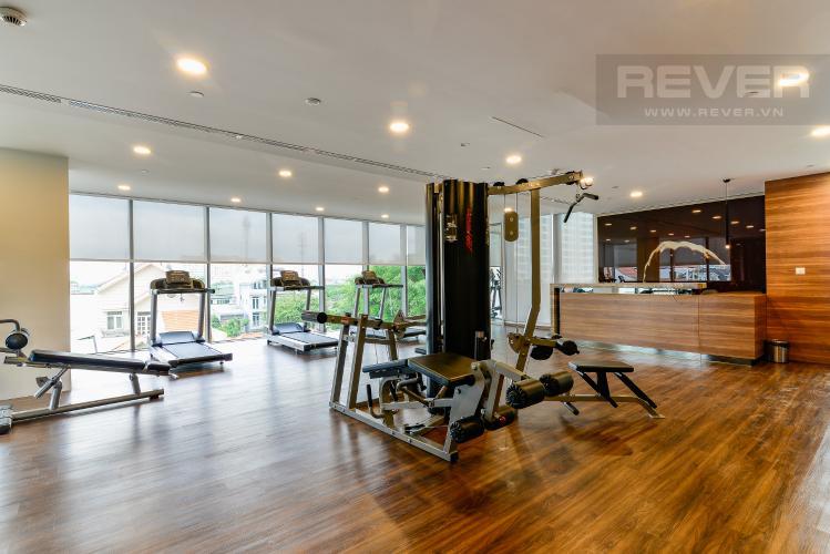 Phòng Gym Căn hộ Nassim Thảo Điền tầng trung, tháp A, 2 phòng ngủ, view sông