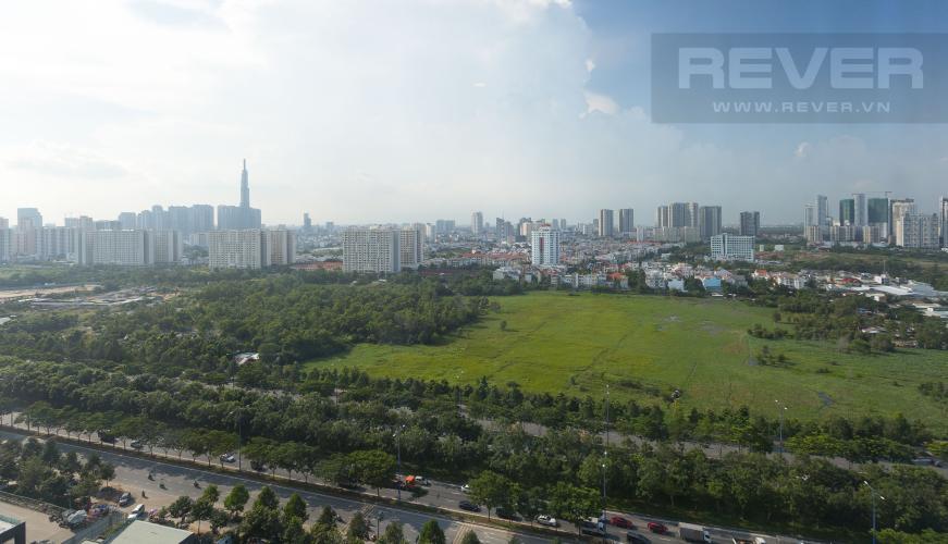 View Cho thuê căn hộ The Sun Avenue tầng cao 2PN đầy đủ nội thất