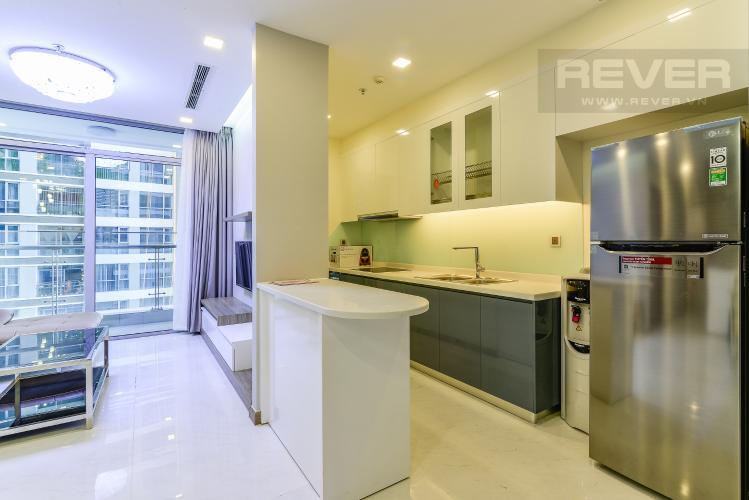 Nhà Bếp Căn hộ Vinhomes Central Park 2 phòng ngủ tầng trung P3 nội thất đầy đủ
