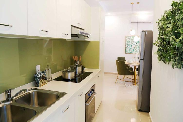 Phòng bếp căn hộ Ricca Căn hộ chung cư Ricca tầng cao hướng Đông Nam, nội thất cơ bản.