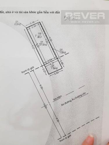 Thông tin chi tiết Bán nhà phố đường Âu Dương Lân diện tích 87m2, 4PN 4WC, nội thất cơ bản