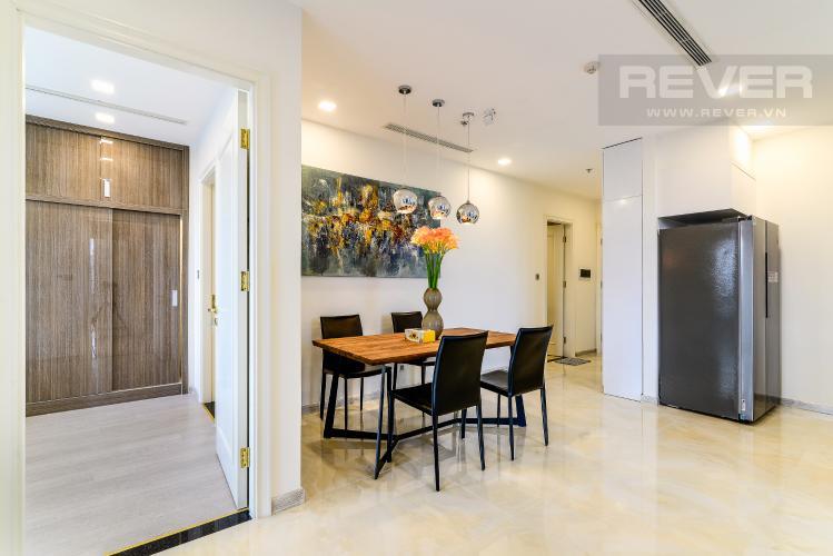 Phòng Ăn Căn hộ Vinhomes Golden River tầng thấp, tháp A1, 3 phòng ngủ, full nội thất