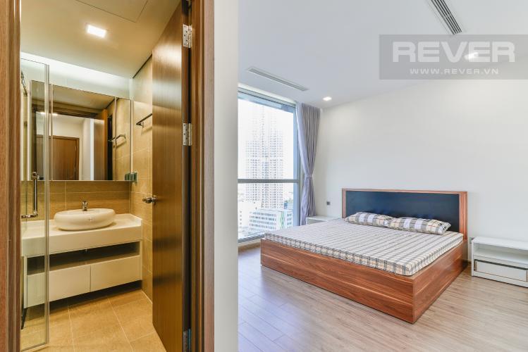 Phòng Ngủ 1 Căn hộ Vinhomes Central Park 2 phòng ngủ tầng trung P7 đầy đủ nội thất