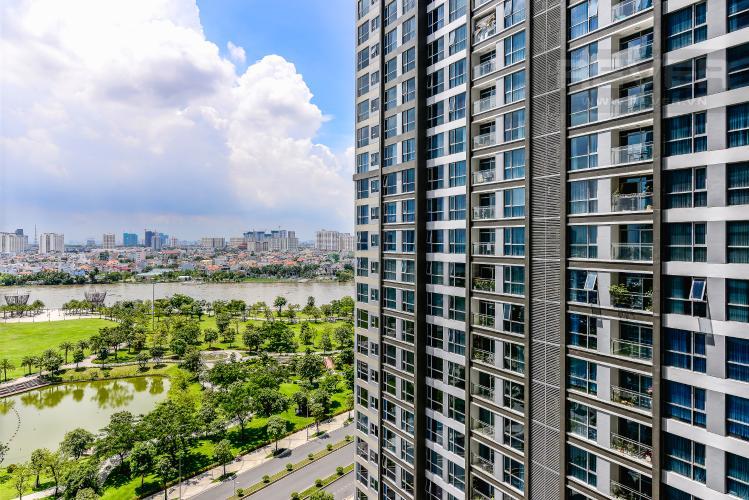 View Căn hộ Vinhomes Central Park 2 phòng ngủ tầng trung P5 hướng Nam