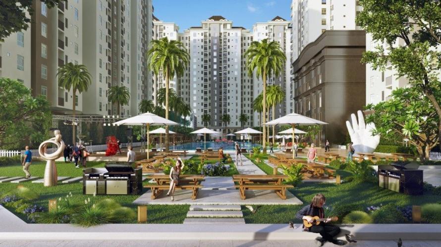 tiện ích căn hộ city gate 3 Căn hộ tầng 12A City Gate 3 nội thất cơ bản