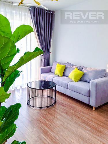 Phòng Khách Cho thuê căn hộ Sunrise CityView 2PN tầng thấp, diện tích 76m2, đầy đủ nội thất