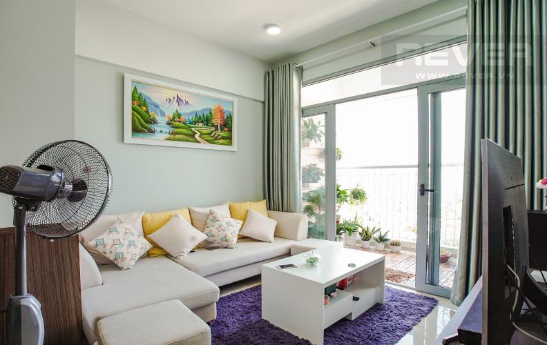 Phòng Khách Bán căn hộ Lux Garden 2 phòng ngủ, nội thất đầy đủ, view cầu Phú Mỹ