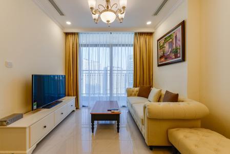 Bán căn hộ Vinhomes Central Park tầng cao, 1PN, đầy đủ nội thất